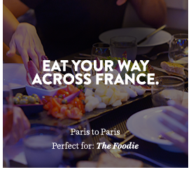 Eat your way across France.