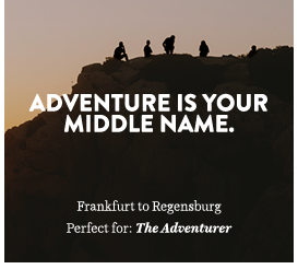 Adventure is your middle name.